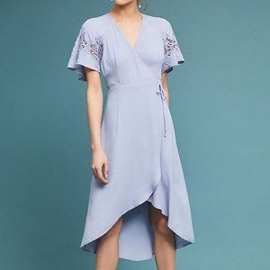 Anthropologie Calin Wrapped Dress